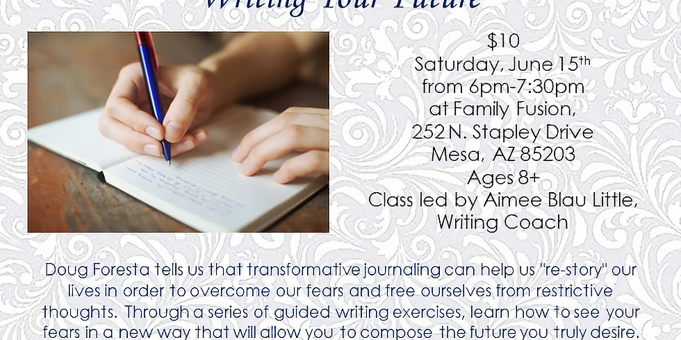Reimagining Your Fears and Writing Your Future