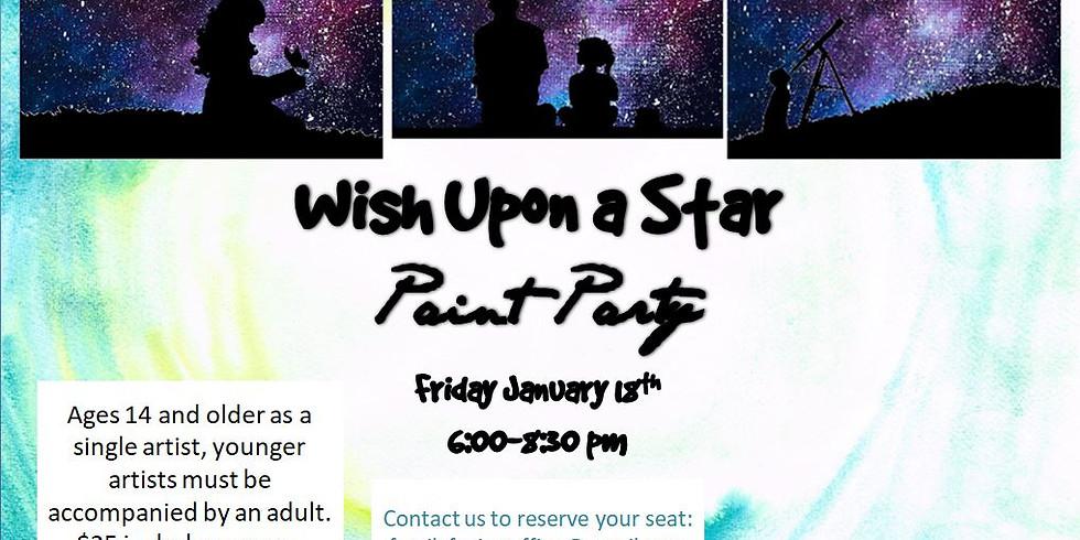 Wish On A Star Paint Night