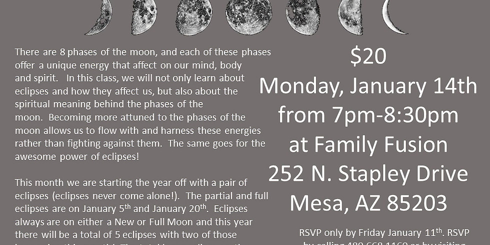 Fascinating Moon Phases