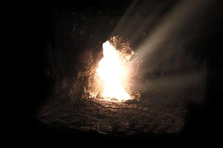 Jesus Resurrection Grace River devotin
