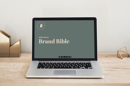 Julius House – Brand Bible & Brand Photography Style Guide