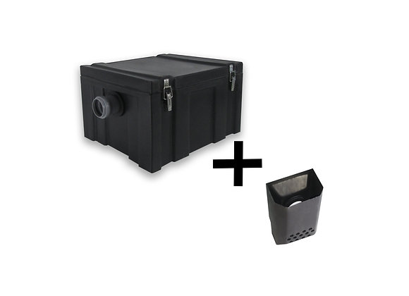 Жироуловитель под мойку FATbox 0.3-15Н с доп. карманом для сбора мусора