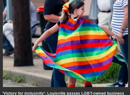 Louisville passes LGBT-owned business ordinance.