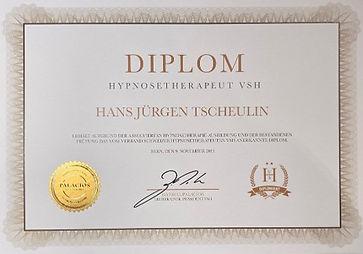 Diplom Hypnosetherapeut VSA HJ Tscheulin