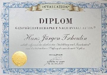 Gescprächstherapeut Diplom HJ Tscheulin.