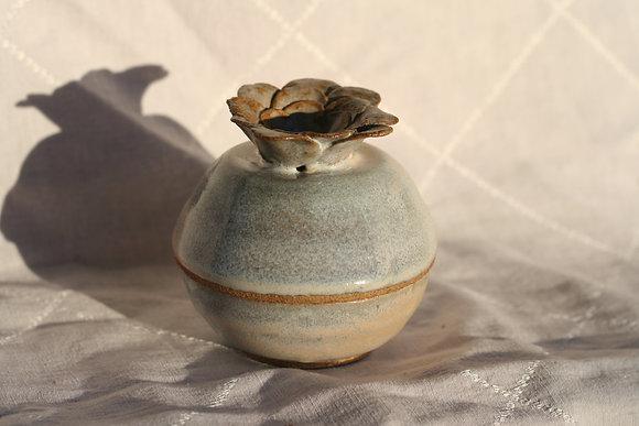 Flower Trinket Cover Jar