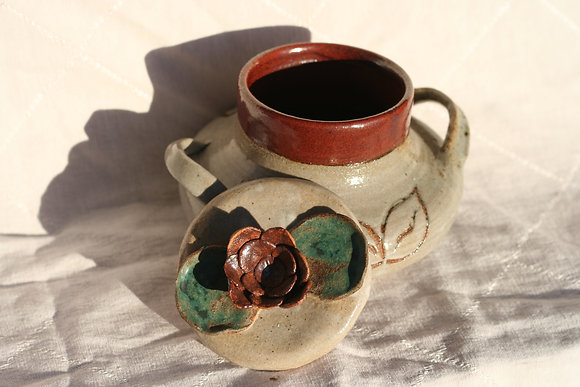 Flower Cover Jar