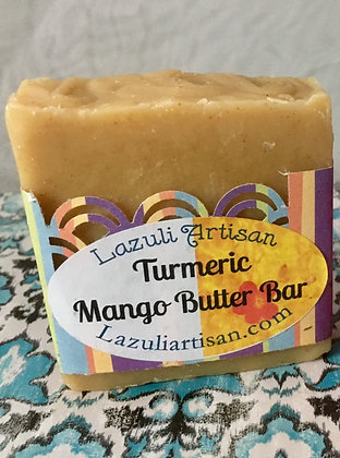 Turmeric Mango Butter Bar