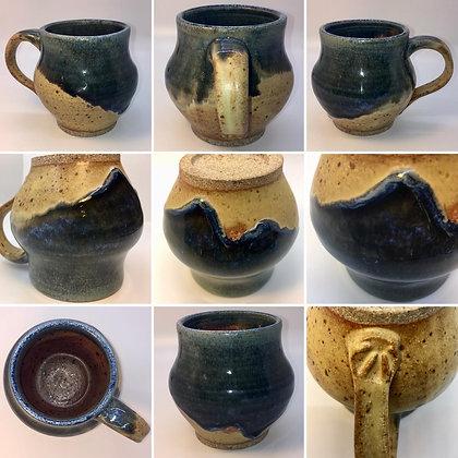 Blue Belly Coffee Mug