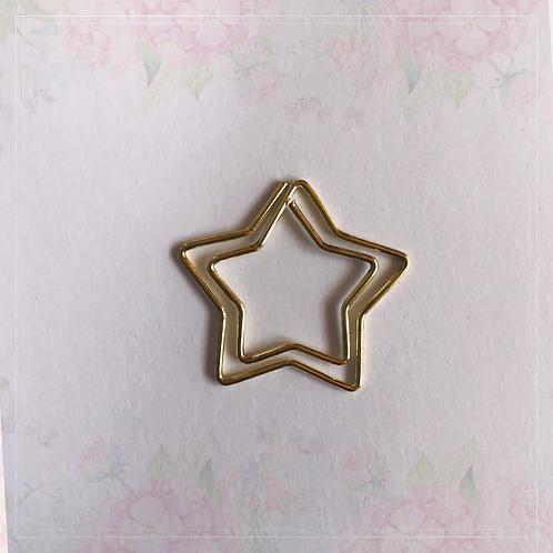 paper clip | star