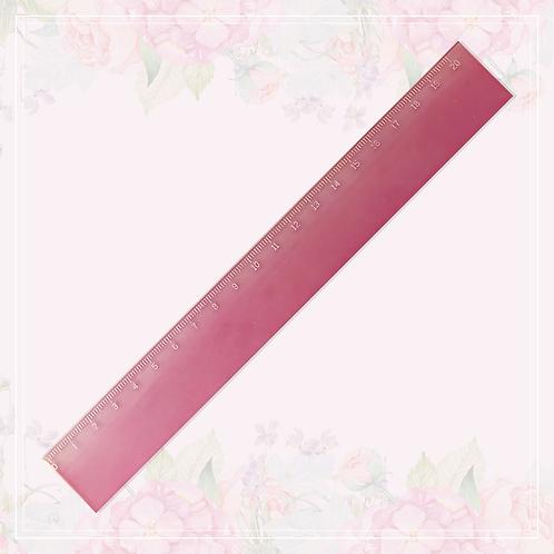 ruler | pink