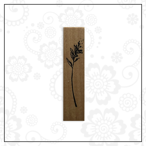 wooden stamp | floral style 1