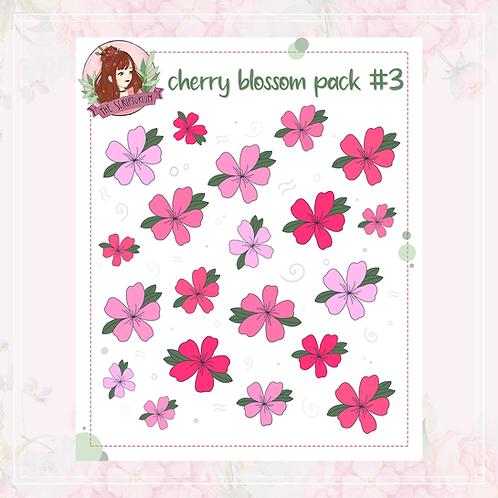 cherry blossom sticker pack | #3