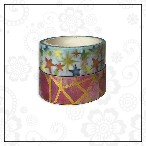 foil washi tape pair | style 12