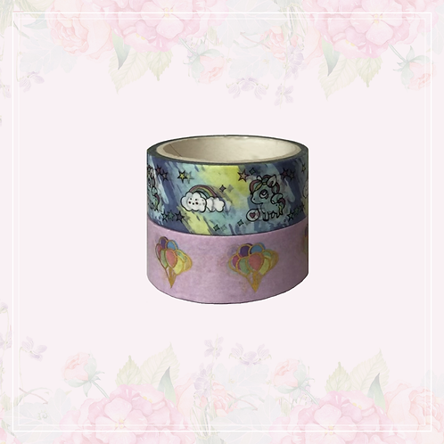 foil washi tape pair | style 6