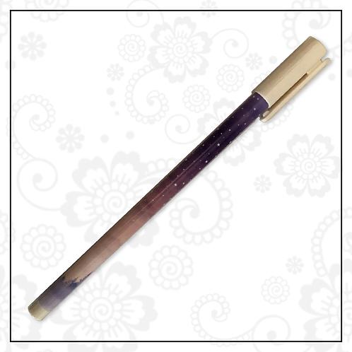 cosmic gel pen | purple