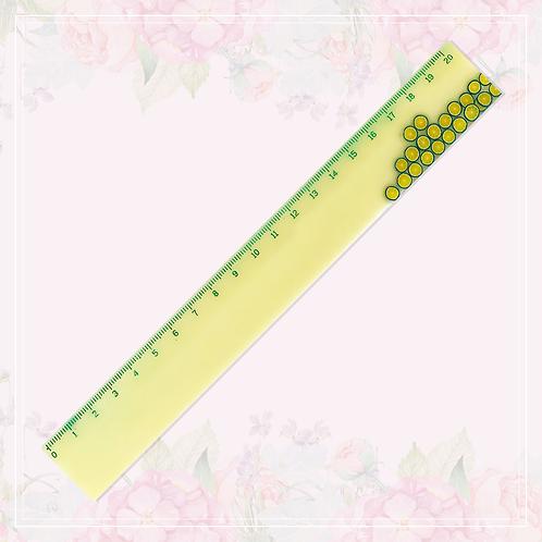 ruler | yellow & fruit
