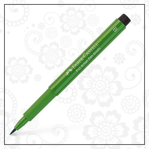 brush pen | olive green