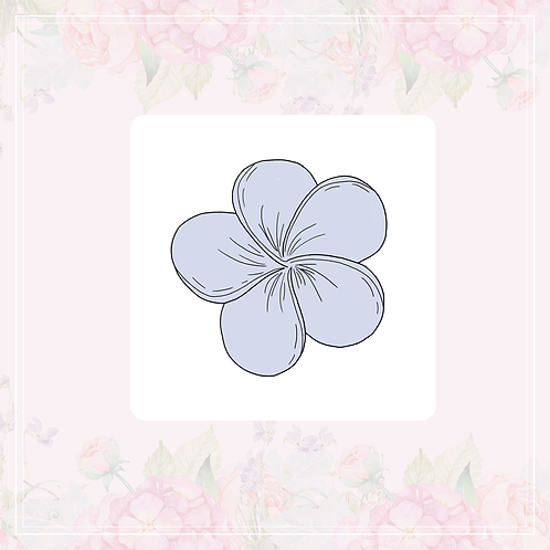 single vinyl stickers | pastel flowers