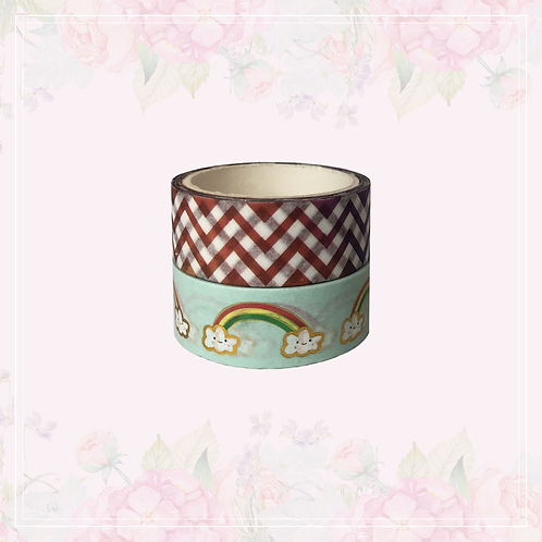 foil washi tape pair | style 1