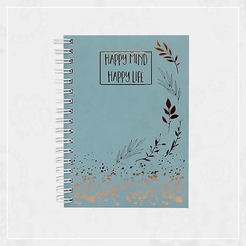Mini Spiral Notebook (Blue)