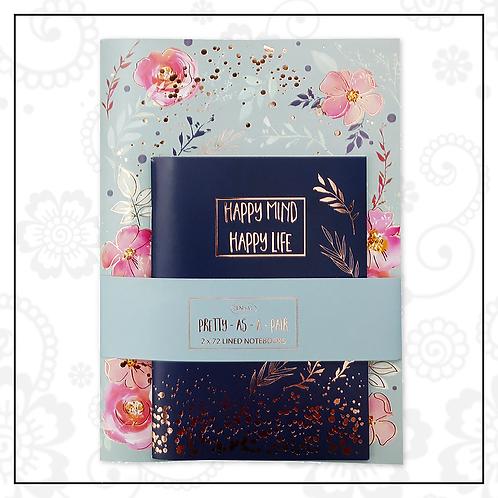 notebook set | blue