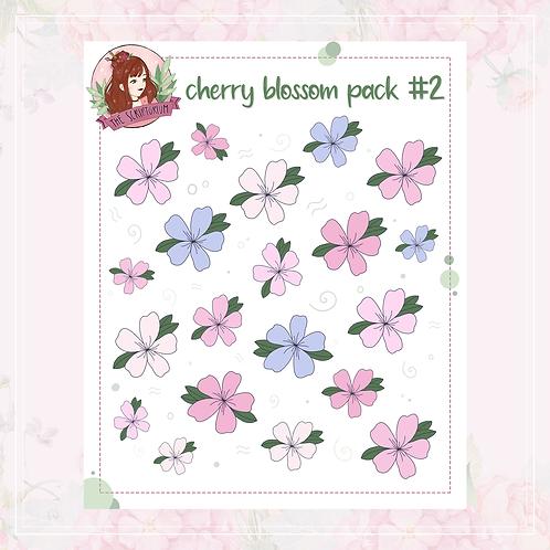 cherry blossom sticker pack   #2