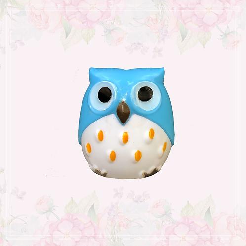 owl sharpener   blue
