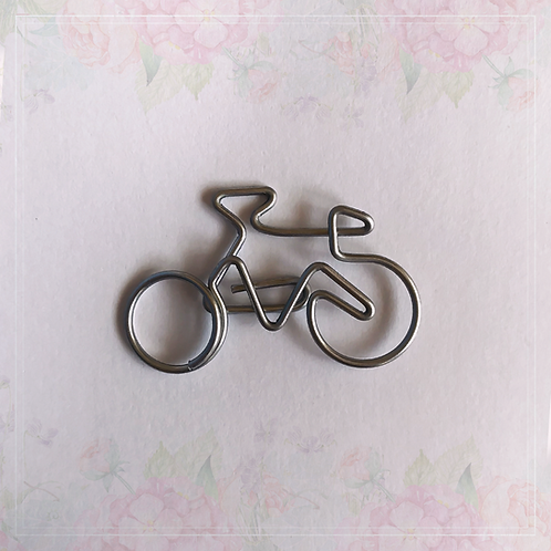 paper clip | bicycle