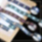 PRODUCT ITEM - dark foil washi tapes 05.