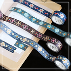PRODUCT ITEM - dark foil washi tapes 05.