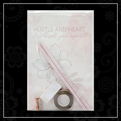 cherry blossom stationery set