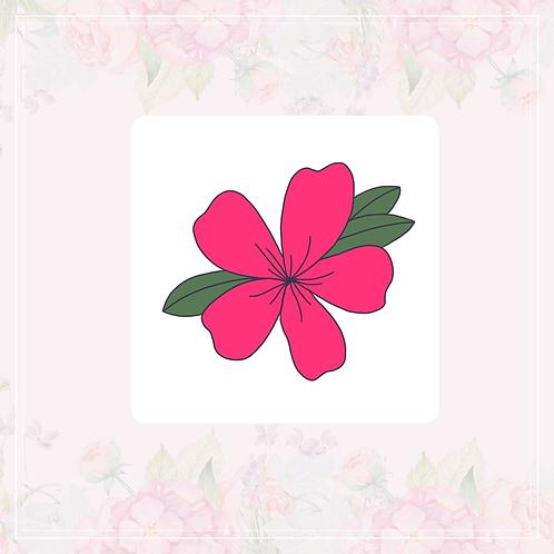 single vinyl sticker | sakura