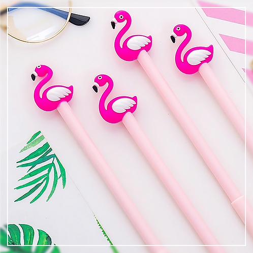 Flamingo Gel Pen