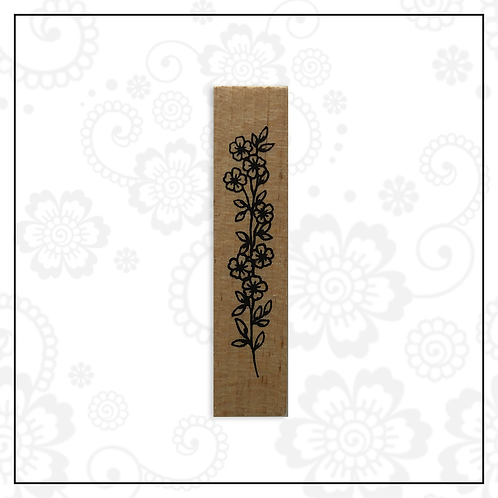 wooden stamp | floral style 3