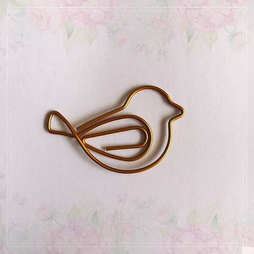 paper clip   bird