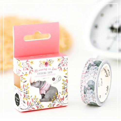 Rhino Washi Tape