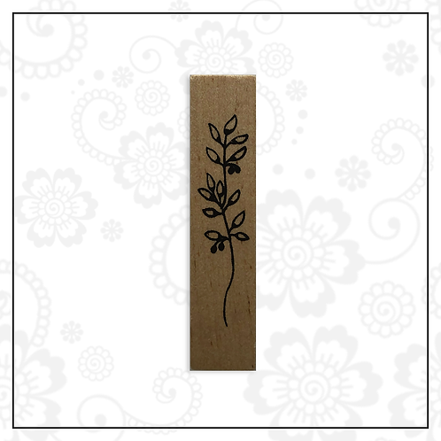wooden stamp | floral style 5
