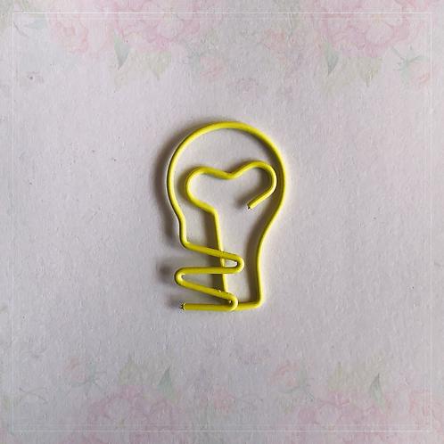 paper clip | lightbulb