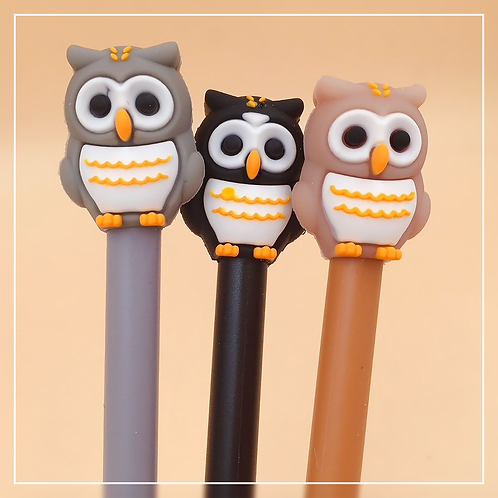 Owl Gel Pen