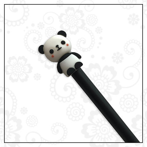 panda gel pen | black
