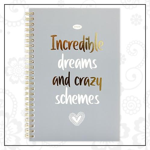 spiral notebook | grey