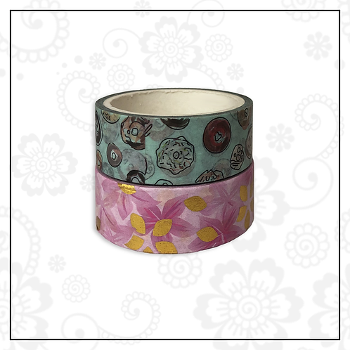foil washi tape pair | style 10