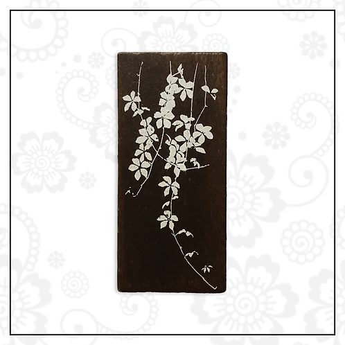 wooden stamp | foliage style 1