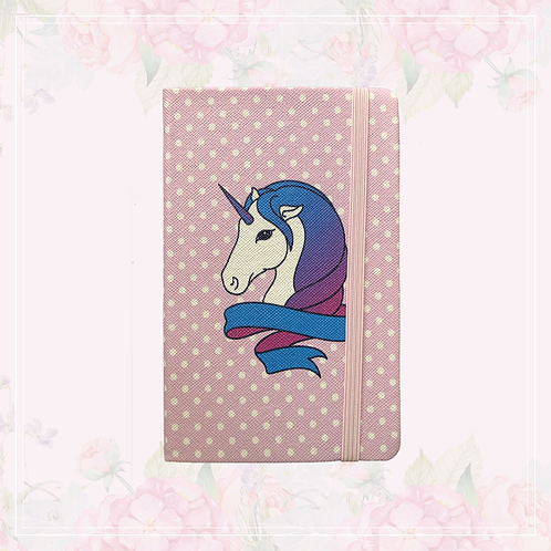 unicorn journal   polka dot