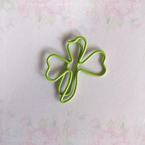 paper clip   clover