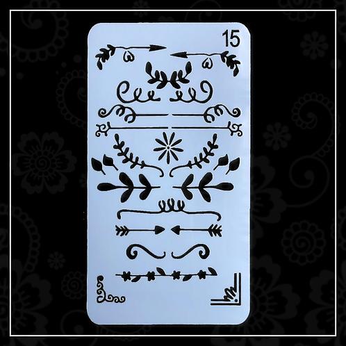 stencil | 15