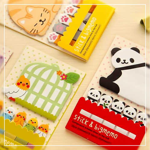 Animal Sticky Note Set