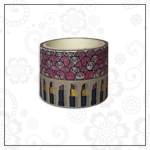 foil washi tape pair | style 7