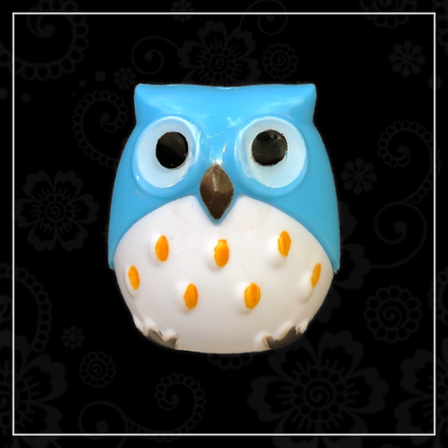 owl sharpener | blue